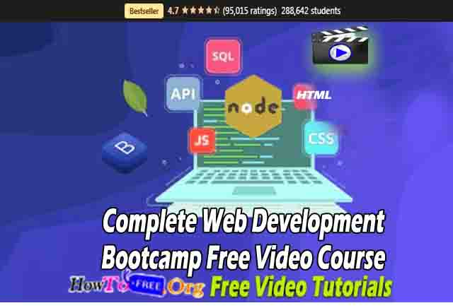 Complete Web Development Bootcamp Free Video Course