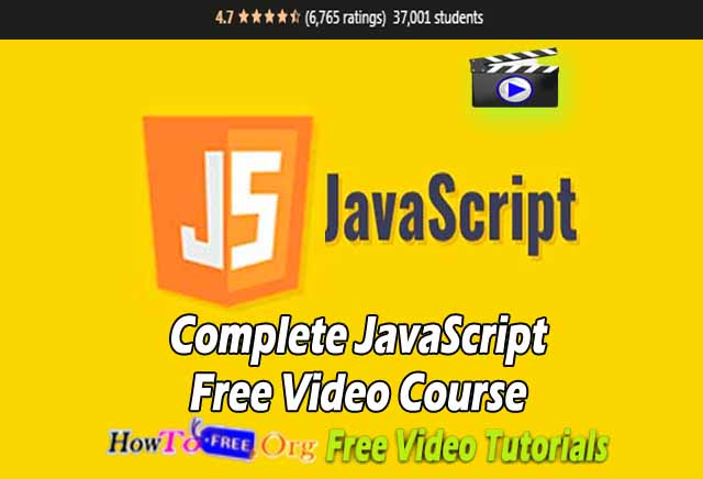 Complete JavaScript Free Video Course Free Download