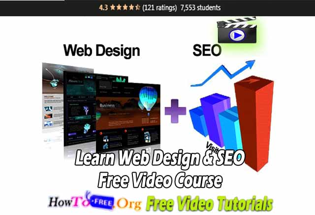 Learn Web Design & SEO Free Video Course