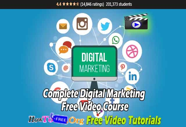 Complete Digital Marketing Free Video Course Free Download