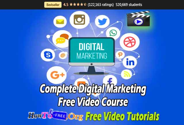 Complete Digital Marketing Free Video Course