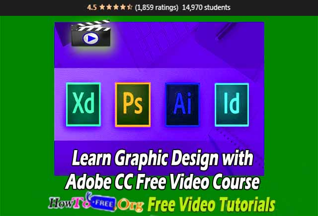 Learn Graphic Design with Adobe CC Free Video Course