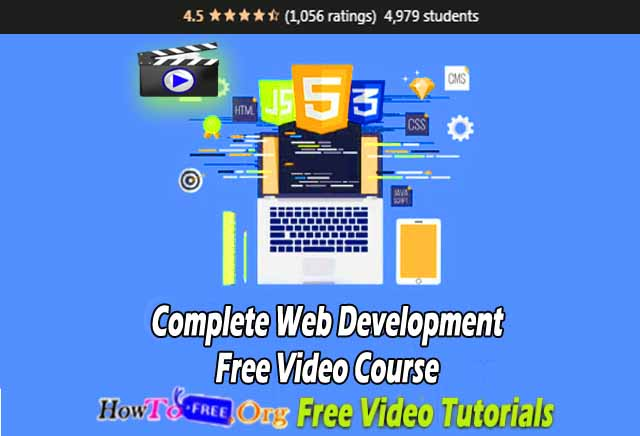 Complete Web Development Free Video Course