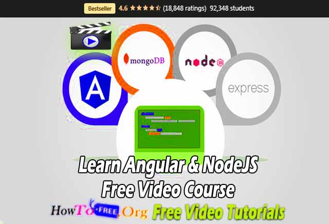 Learn Angular & NodeJS Free Video Course