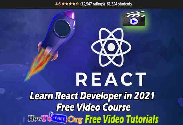 Learn React Developer in 2021 Free Video Course