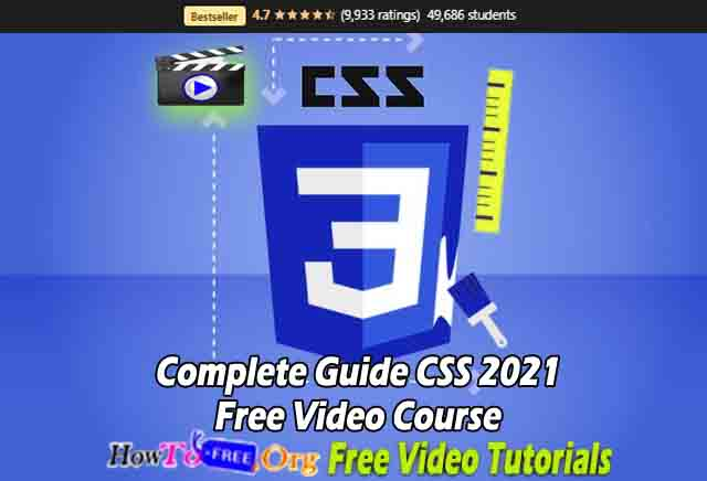 Complete Guide CSS 2021 Free Video Course