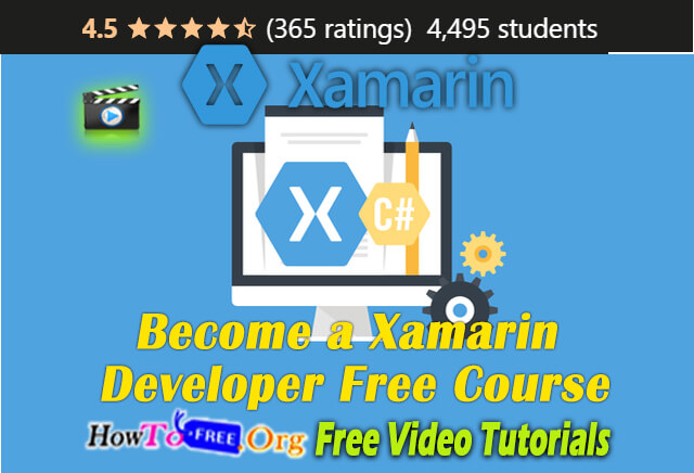 Become a Xamarin Developer Free Course 2021