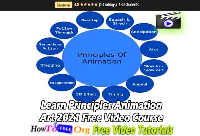 Learn Principles Animation Art 2021 Free Video Course