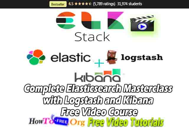 Complete Elasticsearch Masterclass with Logstash and Kibana Free Video Course