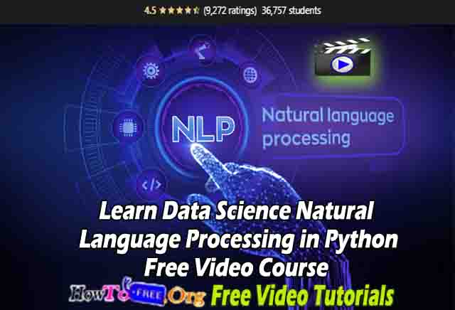Learn Data Science Natural Language Processing in Python Free Video Course