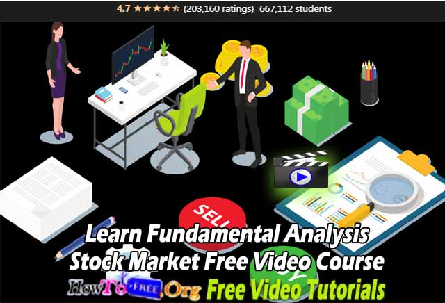 Learn Fundamental Analysis Stock Market Free Video Course