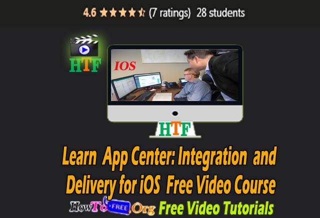 Learn App Center: Continuous Integration and Delivery for iOS Free Video Course
