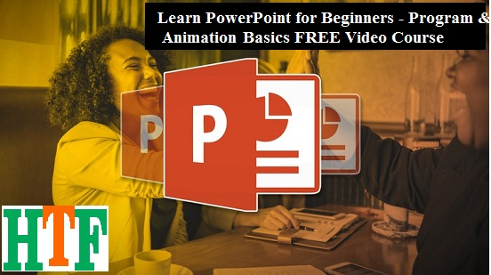 Learn PowerPoint for Beginners – Program & Animation Basics FREE Video Course
