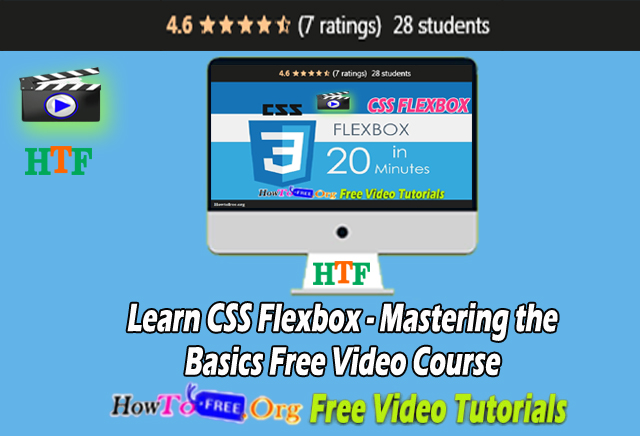 Learn CSS Flexbox – Mastering the Basics Free Video Course