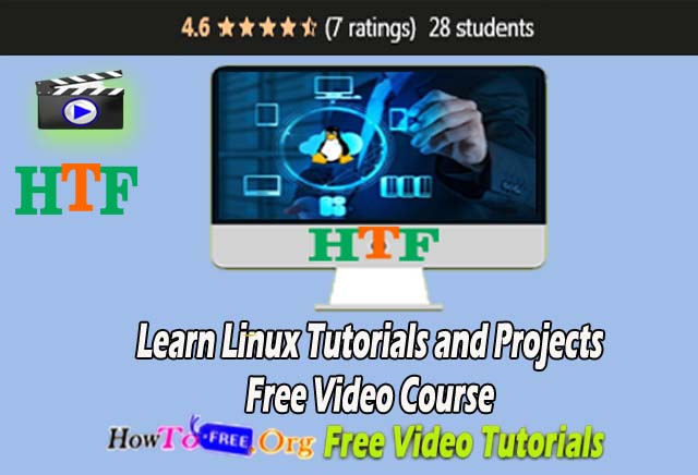 Learn Linux Tutorials and Projects Free Video Course