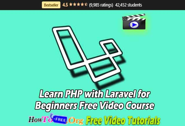Learn PHP with Laravel for Beginners Free Video Course