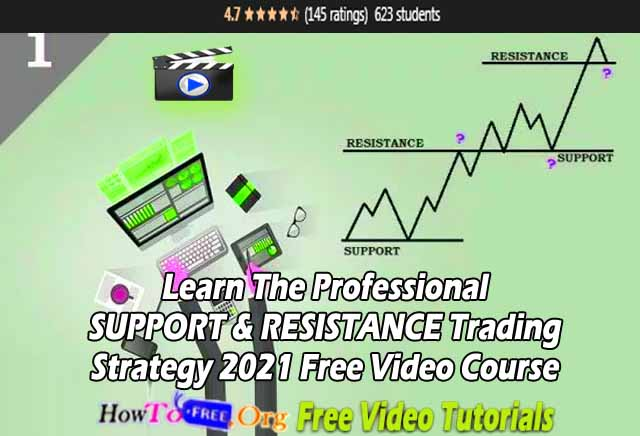 Learn The Professional SUPPORT & RESISTANCE Trading Strategy 2021 Free Video Course