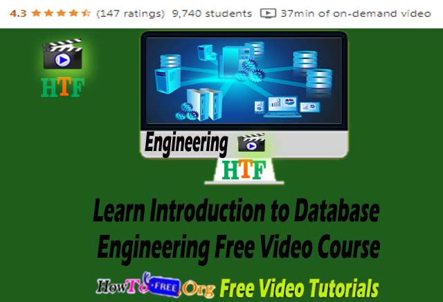 Learn Introduction to Database Engineering Free Video Course