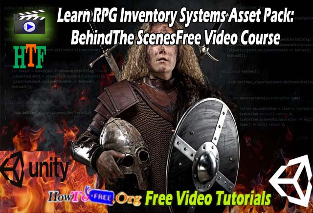 Learn RPG Inventory Systems Asset Pack: Behind The Scenes Free Video