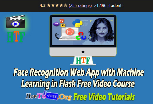 Face Recognition Web App with Machine Learning in Flask Free Video Course