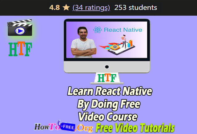 Learn React Native By Doing Free Video Course