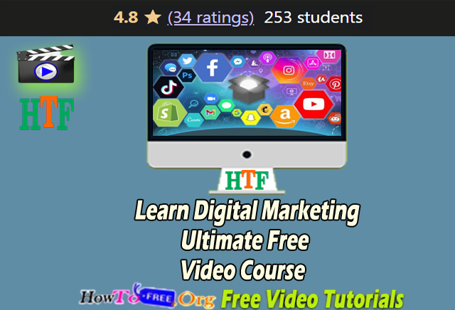 Learn Digital Marketing Ultimate Free Video Course