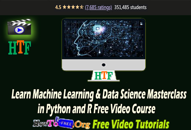 Learn Machine Learning & Data Science Foundations Masterclass Free Video Course